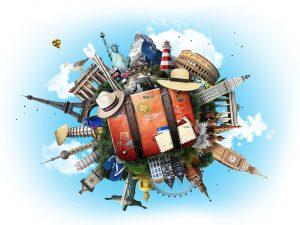 Turistas conscientes con el medio ambiente